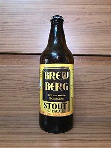 BREW BERG STOUT C/CACAU CERVEJA 600ML