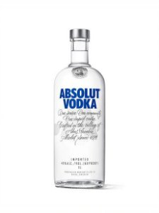 ABSOLUT VODKA ORIGINAL SUECA 1L