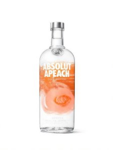 ABSOLUT VODKA APEACH SUECA 1L