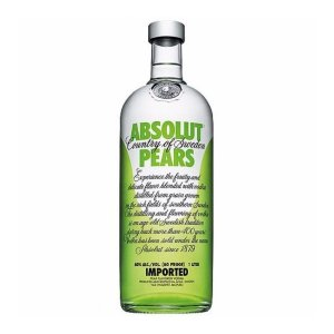 ABSOLUT VODKA PEARS SUECA 1000ML