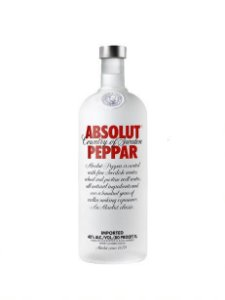 ABSOLUT VODKA PEPPAR SUECA 1000ML