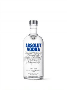 ABSOLUT VODKA ORIGINAL SUECA 750ML