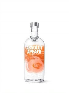 ABSOLUT VODKA APEACH SUECA 750ML