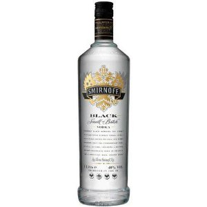 SMIRNOFF BLACK VODKA 1000ML