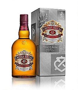 Chivas Regal Whisky 12 anos Escocês 1L