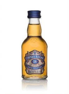 Chivas Regal Whisky 18 anos Escocês 50ml