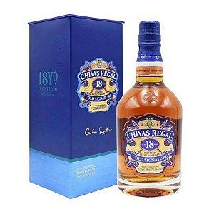 Chivas Regal Whisky 18 anos Escocês 750ml