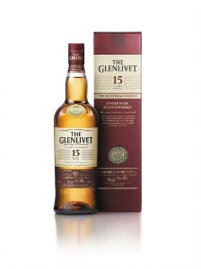 The Glenlivet Whisky Single Malt 15 anos Escocês 750ml