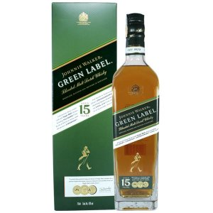 JOHNNIE WALKER GREEN LABEL 750ML
