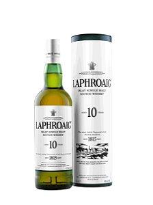 LAPHROAIG 10 anos Whisky Single Malt Escocês 750ml