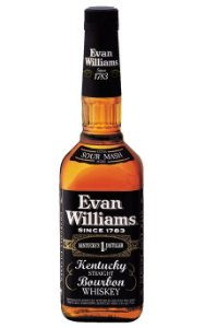 EVAN WILLIANS BLACK LABEL WHISKEY BOURBON AMERICANO 1000ML