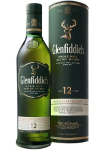 GLENFIDDICH 12 ANOS Whisky Single Malt Escocês 750ml