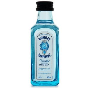 BOMBAY SAPPHIRE LONDON DRY GIN MINI 50ML