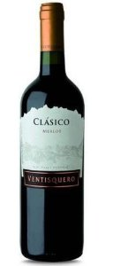 VENTISQUERO CLASSICO MERLOT VINHO CHILENO TINTO 750ML