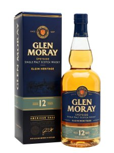 GLEN MORAY WHISKY SINGLE MALT 12 ANOS ESCOCÊS 750ML