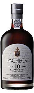 PACHECA TAWNY 10 ANOS VINHO DO PORTO PORTUGUES 750ML