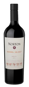 NORTON BARREL SELECT MERLOT VINHO ARGENTINO TINTO 750ML