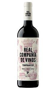 REAL COMPAÑÍA DE VINOS TEMPRANILLO  VINHO ESPANHOL TINTO 750ML