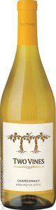 COLUMBIA CREST CHARDONNAY UNOAKED TWO VINES VINHO USA 750ML