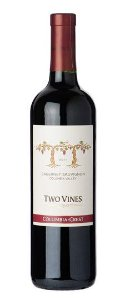COLUMBIA CREST CABERNET SAUVIGNON TWO VINES VINHO USA TINTO 750ML