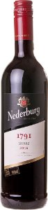 NEDERBURG 1791 SHIRAZ VINHO SUL AFRICANO TINTO 750ML