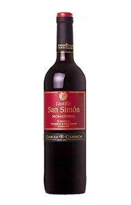 CASTILLO SAN SIMON MONASTRELL VINHO ESPANHOL TINTO 750ML