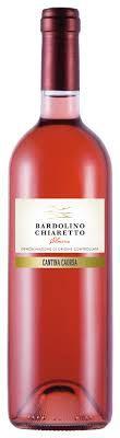 BARDOLINO CHIARETO CANTINA CAORSA ROSE VINHO ITALIANO 750ML
