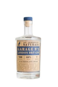 GARAGE N3 LONDON DRY GIN - LOTE LIMITADO - 700ml