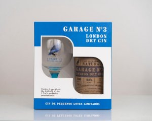 GARAGE N3 KIT LONDON DRY GIN - LOTE LIMITADO - GIN + TAÇA