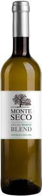 MONTE SECO FRESH WHITE BLEND VINHO PORTUGUES BRANCO 750ML