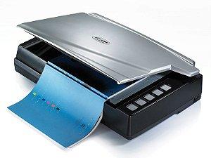 Scanner Plustek OpticBook A300 - Mesa Plana A3 - Especial para Livros