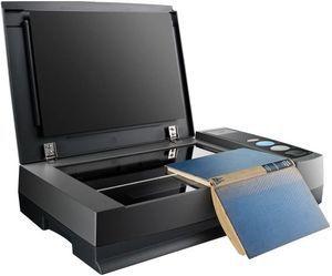 Scanner Plustek OpticBook 3800L - Mesa Plana A4 - Especial para Livros