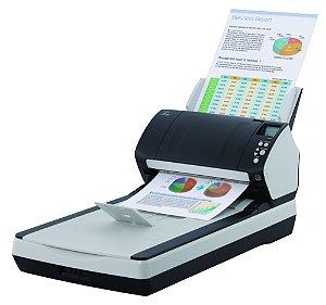 Scanner Fujitsu Fi-7260 - USB - Mesa Plana e Alimentador Automático A4