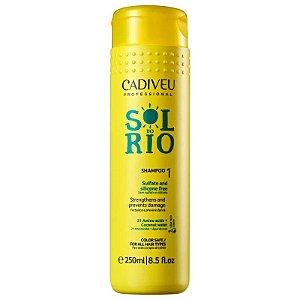 Shampoo Sol do Rio sem Sulfato 250ml - Cadiveu