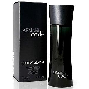 Armani Code Eau de Toilette Masculino 75ml - Giorgio Armani