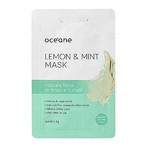 Máscara Facial Detox Lemon And Mint Mask - Océane