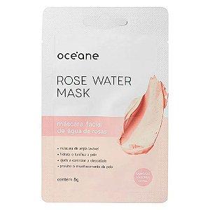 Máscara Facial Hidratante Rose Water Mask - Océane