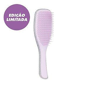 Escova The Wet Detangling Silver Glitter Lilac - Tangle Teezer