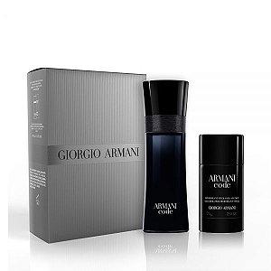 Kit Perfume Code Eau Toilette + Desodorante - Giorgio Armani
