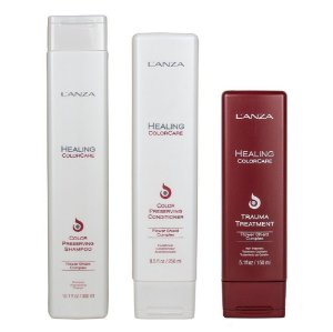 Kit Color Care Shampoo, Condicionador e Trauma - Lanza