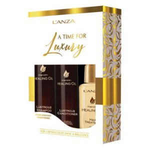 Kit Keratin Healing Oil A Time for Luxury - Lanza
