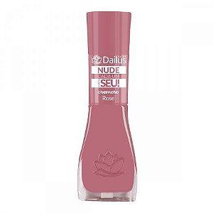 Esmalte Dailus Nude Cada Um Tem O Seu Rose 8ml