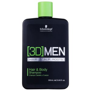 Shampoo Schwarzkopf 3DMENSION Cabelo e Corpo 250ml