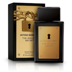 Perfume Golden Secret EDT Masculino 100ml - Antonio Banderas