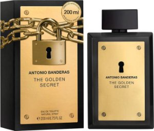 Perfume Golden Secret EDT Masculino 200ml - Antonio Banderas