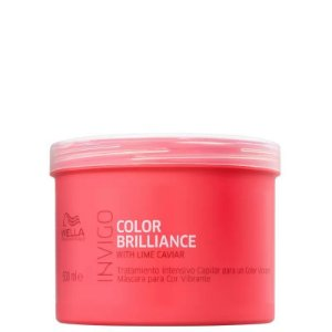 Máscara Invigo Color Brilliance 500ml - Wella