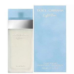 Light Blue Eau de Toilette Feminino 100ml - Dolce & Gabbana