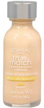 Base Loréal True Match W2 Light Ivory 30ml