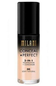 Base Milani 2-in-1 Conceal+Perfect 00 Ligth Natural 30ml