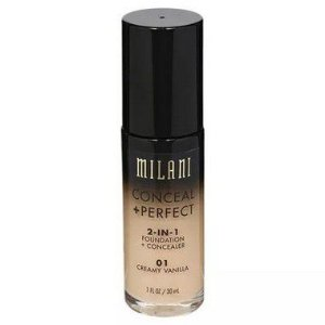 Base Milani 2-in-1 Conceal+Perfect 01 Creamy Vanilla 30ml